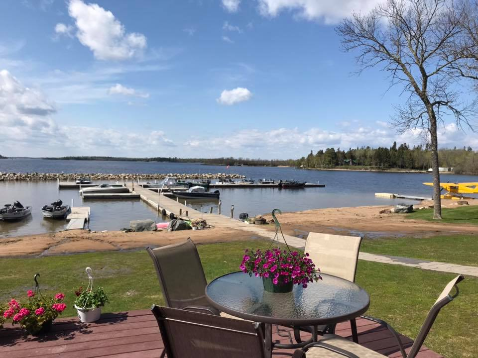 Patio weather! - Lake of the Woods Resort on Oak Island